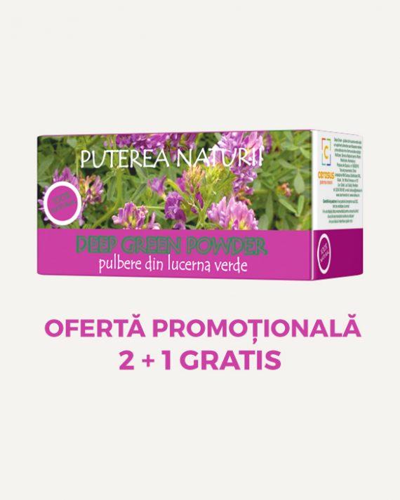 Oferta Promotionala Pulbere din Lucerna Verde