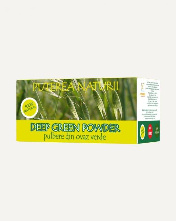 pulbere de ovaz verde cerasus produse naturiste